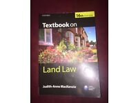 Textbook on Land Law 16th Edition by Judith Anne MacKenzie