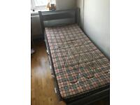 SIBGLE BED FRAME (mattress NOT included)