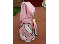 Ladies Pink Golf Bag.