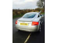 Audi tt4x4 Quattro 1.8 mot oct 17 lots of history full heated leather mint condition