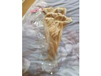 Remi real hair 18inch hair extensions