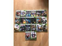 X box 360 games bundle
