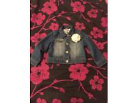 Girls denim jacket 18-24 months as new condition