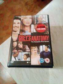 GREYS ANATOMY FIRST SERIES DVD