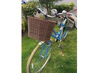 """Pendleton Somersby baby blue ladies bike 17"""" £200"""