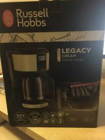 Russell Hobbs Legacy Coffee Maker (Cream)