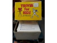 Trivia for Kids - Card Game.