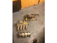 Renault Clio sport 182 inlet manifold and rocker cover