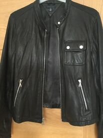 Tommy Hilfiger Woman's Leather Jacket