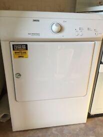 Zanussi 7kg Freestanding Vented Tumble Dryer