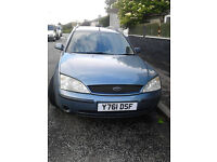 Ford Mondeo Petrol Estate 2.0lx 2001
