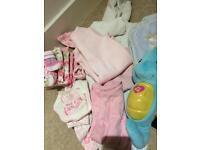 1 Black bin bag full of quality baby girl stuff