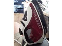 Russell hobbs iron only used once very good condition it is the autostem pro