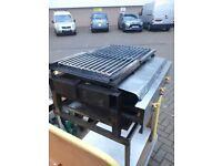 Charcoal gas grills lpg free standing griddles Catering equipment Trailers food vans Hob lpg Fryers
