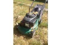 Petrol lawn mower spares or repairs