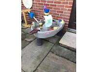Little tykes pirate ship water tray