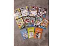 Diary of a Wimpy Kid, Tom Gates & Captain Underpants Books