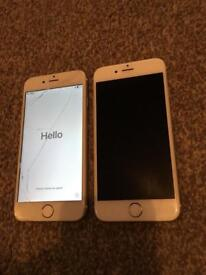 2 x iPhone 6 16gb on EE