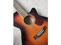 Freshman RENOCSB Folk Electro Acoustic Guitar, Sunburst in very good condition