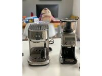 Sage Bambino Coffee Machine and Grinder