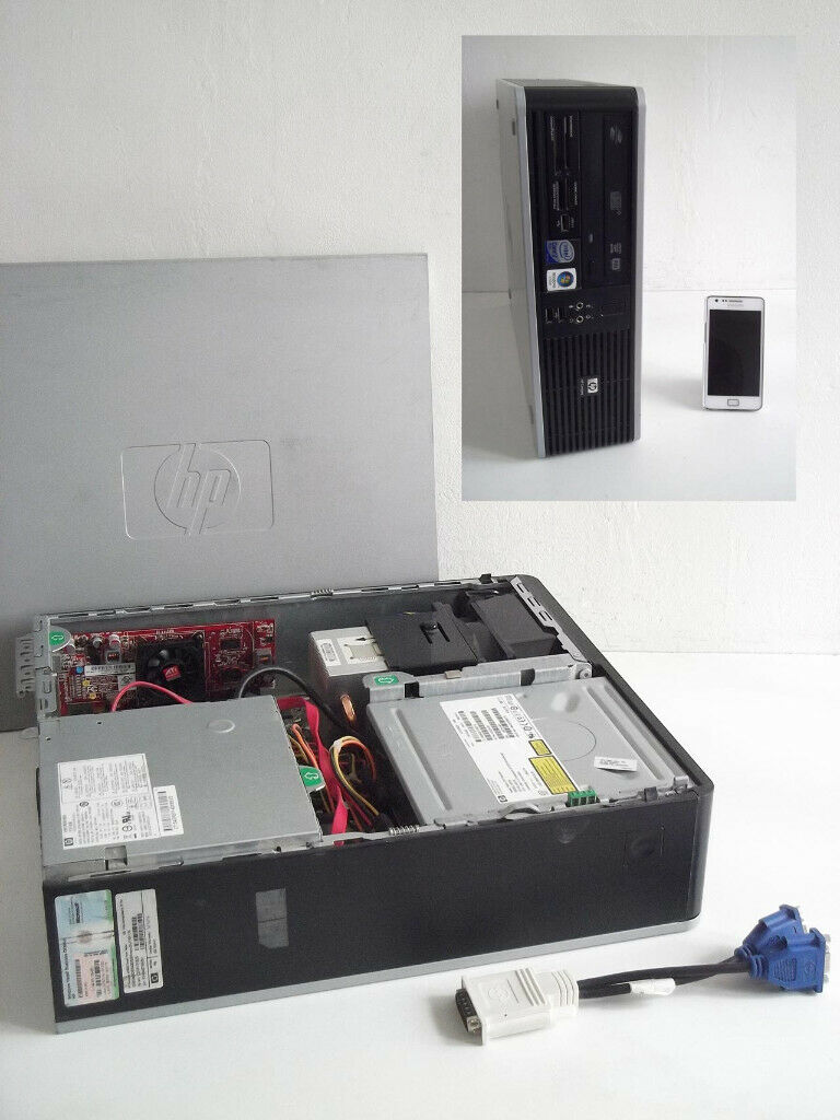 HP 5800 + Gaming PC Upgrade (i3, Office 2013, Adobe Photoshop, Core E7500,  Computer, Hp, Desktop PC | in Bethnal Green, London | Gumtree