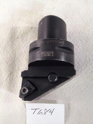 1 Used Sandvik Capto C4-tlsl-27050-2 Boring Head. W Coolant. Sweden Made T684