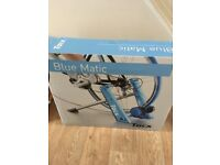 Brand new blue matic cycle trainer
