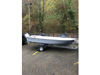 15ft Fishing Boat ,Trailer