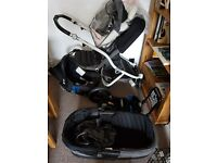 Brittax affinity travel system and isofix base