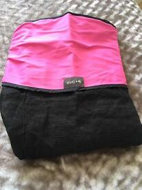 Pushchair shade cover