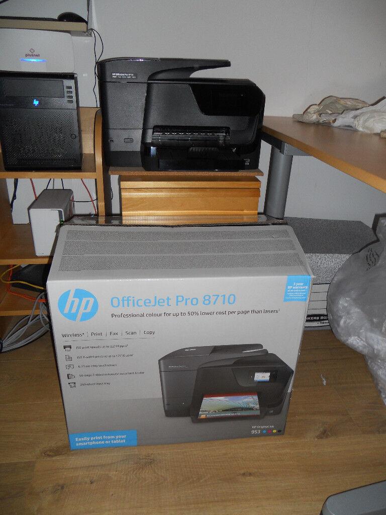 Hp Officejet Pro 8710 All In One Multifunction Wireless Inkjet Printer