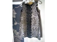 stunning designer dress matching coat 4-6