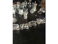 crystal glass figurers