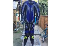 IXS one piece leather 38 UK . With sliders. £220