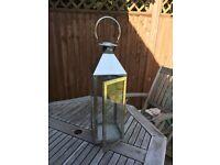 Large Silver Lantern - Laura Ashley