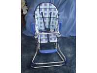 Child's Petite Star travel/folding high chair