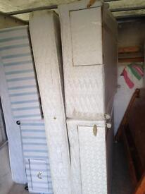King size bed and mattress only £100ono