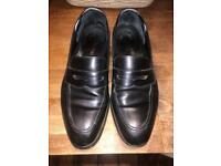 Loake Whitehall Premium Penny Loafer Shoes [WORN]