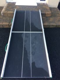 ALUMINIUM WHEELCHAIR RAMP AND THRESHOLD RAMPS