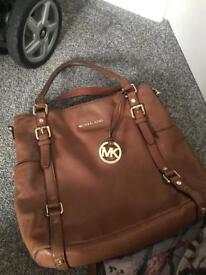 Tan Michael kors bag