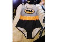 Batman Swimsuit Size 10