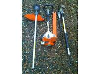 Stihl kombi tool with hedge trimmer + strimmer
