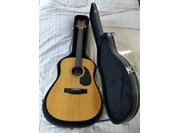 Sigma DM-12 - 12 string guitar with hard case
