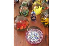 Paperweights selection