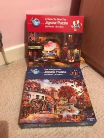 Puzzles jigsaws