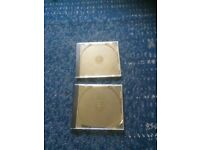 2 spare CD case holders