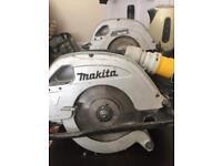 Makita circular saw 110V runs off generator