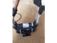 Shower pump used Showermate eco Standard 2.0 bar Twin - Shower pump