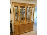 Solid Wood American Tall Sideboard/Dresser