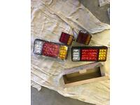 LED indicator lights for trailers horse boxes etc